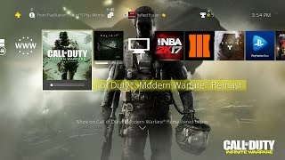 Download How to Download the Call of Duty: Modern Warfare Remastered Campaign Now on PS4 a Month Early! Video
