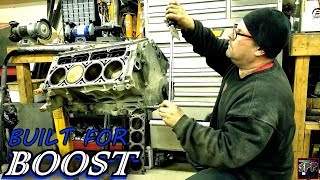 Download Turbo Prepping a 5.3 LS V8 Short block | Sloppy Stage 2 Cam + Piston Ring Gap for BOOST! Video