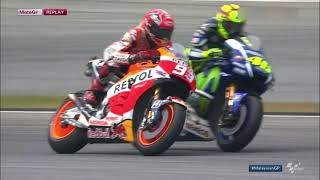 Download Valentino Rossi vs Marc Marquez Sepang 2015 *FULL BATTLE HD* MOTO GP Video