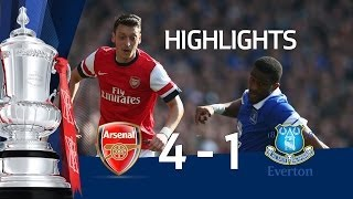 Download ARSENAL VS EVERTON 4-1: Official goals and highlights FA Cup Sixth Round HD Video
