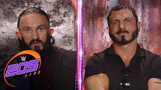 Download Austin Aries and Neville argue en route to WWE Extreme Rules: WWE 205 Live, May 23, 2017 Video