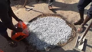Download Instant Pothole repair in Bengaluru India using Instarmac Video