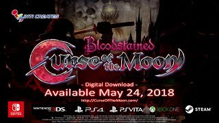 Download Bloodstained: Curse of the Moon Official Trailer Video