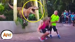 Download They didn't EXPECT THAT! Funniest Amusement Park Videos | AFV Video