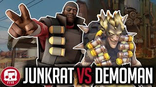 Download JUNKRAT VS DEMOMAN RAP BATTLE by JT Music (Overwatch vs TF2) Video