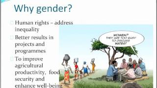 Download Gender and Climate-Smart Agriculture: Introduction to Concepts and Tools – Sibyl Nelson Video