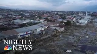 Download Desperate Search Continues After Indonesian Earthquake And Tsunami | NBC Nightly News Video