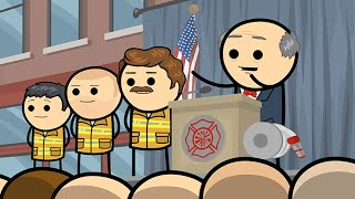 Download Firefighter's Day - Cyanide & Happiness Shorts Video