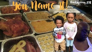 Download You Name it! ||THANKSGIVING 2016 || Raising The Lee's Vlogs Video