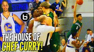 Download Jalen Lecque WINDMILL vs Steph Curry's Alma Mater; Game Gets HEATED! Video