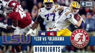 Download LSU vs. Alabama Highlights | Tigers take down Tide in INSTANT CLASSIC | CBS Sports Video