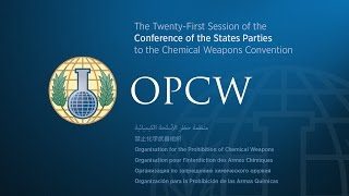 Download The Twenty-First Session of the Conference of the States Parties - Day 1 AM Video