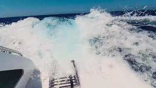 Download SCARED FOR MY LIFE! Sailing at 22 knots boat speed down HUGE waves (Sailing La Vagabonde) Ep. 105 Video