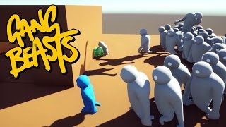 Download Gang Beasts - WE ARE SOO DEAD!!! [Roof Waves] Video