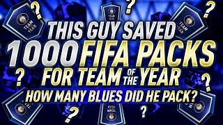 Download THIS GUY SAVED 1,000 PACKS FOR TEAM OF THE YEAR... Video