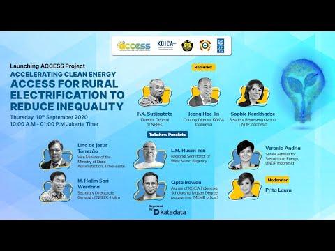 International Virtual Seminar: Launching ACCESS Project