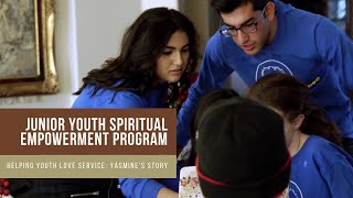 Download Teen helps younger youth to love service: Yasmine's Story #JYSEP Video