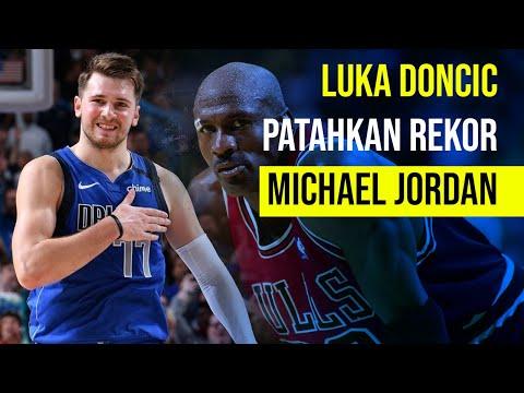 Luka Doncic Patahkan Rekor Michael Jordan