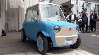 Download Rimono: A tiny two-seater car that is really easy to drive Video