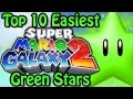 Download Top 10 Easiest Super Mario Galaxy 2 Green Stars Video