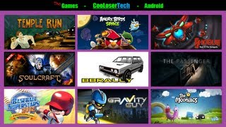 Download #112 Top 10 Android GAMES - Best of The Week - Temple Space Mooniacs 2012 Video