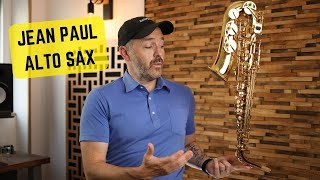 Download BEST Alto Saxophone for Under $500? - Jean Paul AS-400 Unbox Play-test & Review Video