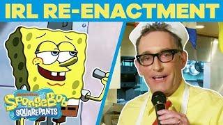 Download SpongeBob Cast Remake BEST Scenes EVER In REAL Life 🤪 Happy Birthday, SpongeBob | #TBT Video
