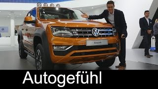 Download VW Volkswagen Amarok Canyon & Comfortline & special editions LWB - Autogefühl Video