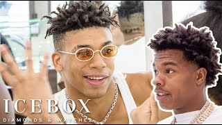 Download NLE Choppa Runs Into Lil Baby While Shopping For Jewelry! Video