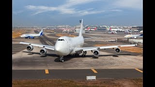 Download 30 year old BOEING 747-200 Uses Entire Runway for Takeoff Video