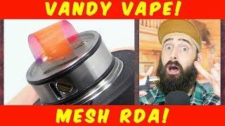 Download Vaping The Mesh RDA By Vandy Vape! Video
