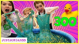 Download 300 Pounds Slime - Duck Pond!🦆 / JustJordan33 Video