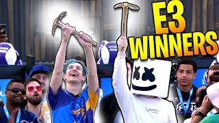 Download NINJA & MARSHMELLO WIN THE E3 CHARITY FORTNITE TOURNAMENT - BEST HIGHLIGHTS Video