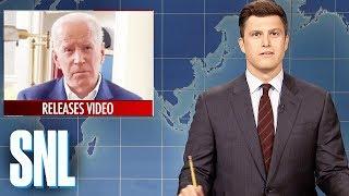 Download Weekend Update: Joe Biden's Inappropriate Touching - SNL Video