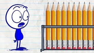 Download Pencilmate Can't Remember his Password! -in- PENCILMATRIX - Pencilmation Cartoons for Kids Video