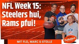 Download NFL Week 15: Steelers hui, Rams pfui! | Footballerei Video