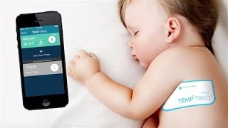 Download TempTraq's Wireless Patch Takes a Baby's Temperature Video