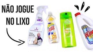 Download Não jogue no LIXO - Embalagens Descartáveis Video