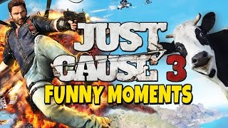 Download Just Cause 3 - Funny Moments - Yust Cows 3 Video