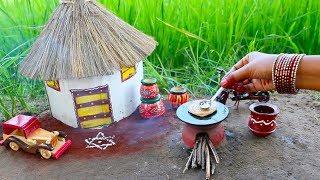 Download Miniature Lachha Paratha with Smokey Mutton Gravy | Lachha Paratha Recipe | Miniature Cooking #36 Video