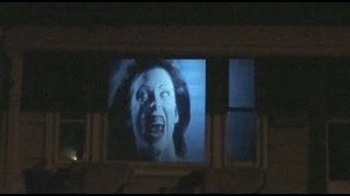 Download Halloween window projection effect for 2015 Video