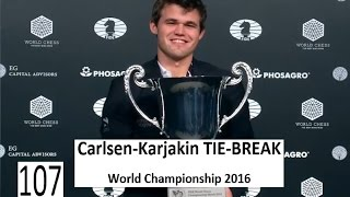 Download Carlsen-Karjakin TIE-BREAK World Championship 2016 Video