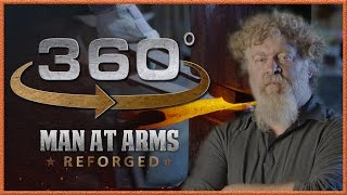 Download Tour of Man At Arms: Reforged Shop in 360° - The Forging Room! Video
