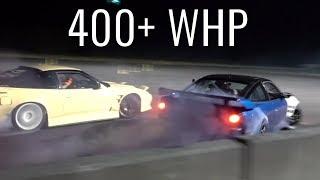 Download SR20 vs LS3 240sx Tandem Drifts! Video