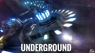 Download Drone Racing 140m Underground Video