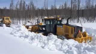 Download Yellowstone Park Snow Plowing Video
