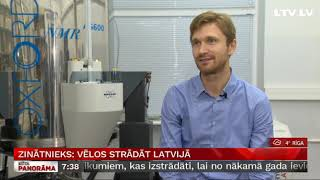 Download Zinātnieks: Vēlos strādāt Latvijā Video
