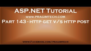 Download Part 143 Difference between http get and http post methods Video