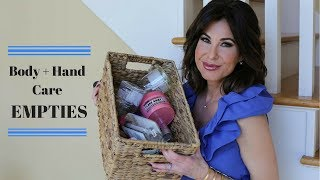 Download BODY + HAND CARE Empties | MARCH Video