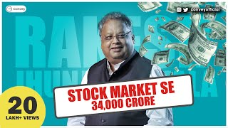 Download Rakesh Jhunjhunwala story: How he became billionaire by investing in stock market | हिंदी Video